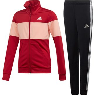 adidas - Track Suit Girls active maroon glow pink