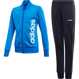 adidas - Track Suit Girls glory blue legend ink white