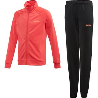 adidas - Entry Track Suit Girls core pink black signal coral