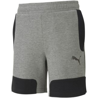 Puma - Evostripe Shorts Jungen medium gray heather
