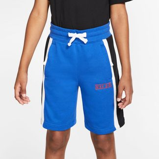 Nike - Air Shorts Kinder game royal white black