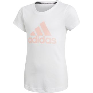 adidas - Must Haves Badge of Sport T-Shirt Mädchen white haze coral
