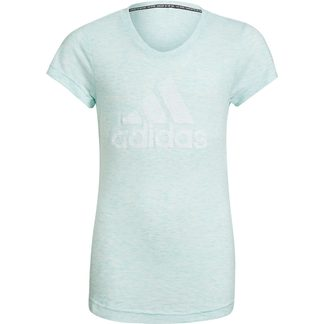 adidas - Must Haves T-shirt Girls clear mint melange white
