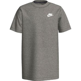 Nike - Sportswear Futura T-Shirt Jungs dark grey heather white