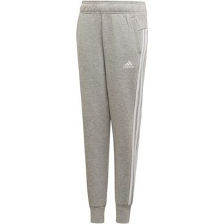 adidas - Must Haves 3-Streifen Trainingshose Mädchen medium grey heather white