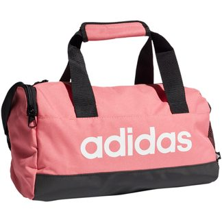 adidas - Essentials Logo Duffel Bag XS hazy rose black white