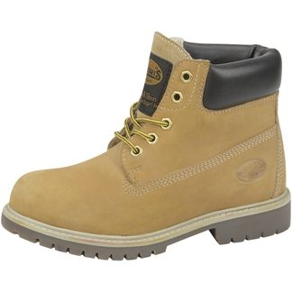 Dockers - Leather Boots Kids golden tan