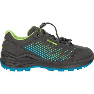 Lowa - Zirrox GTX LO JR Kids anthracite turquoise
