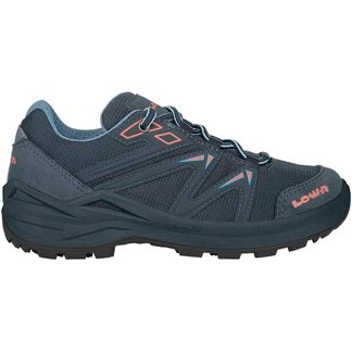 Lowa - Innox PRO GTX LO Lacing Junior steel blue salmon