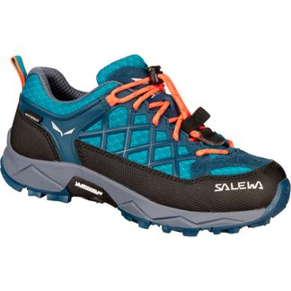 SALEWA - Wildfire WP Kinder caneel bay fluo coral