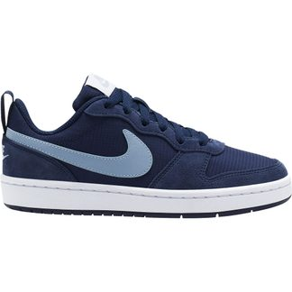 Nike - Court Borough Low 2 (GS) Sneaker Kinder midnight navy light armory blue white