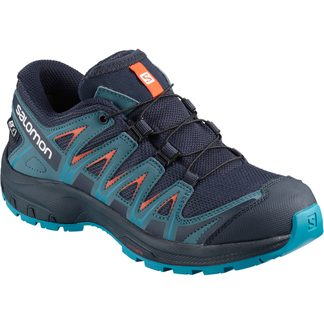 Salomon - XA Pro 3D CSWP J Kinderschuh navy blazer mallard bblue hawaiian blue