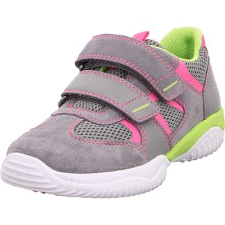 Superfit - Storm Leather Sneaker Girls light grey rose