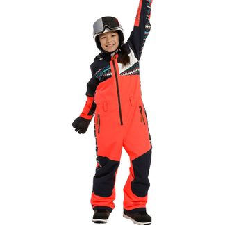 Rehall - Suzanne-R Junior Snow Suit Girls hot coral