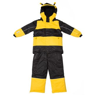 Flashy Stars - Bee Snowsuit 2-Parts Kids yellow-black