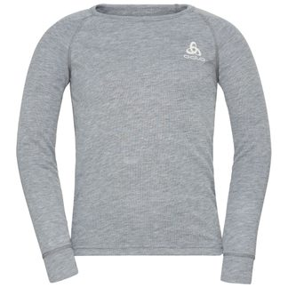 Odlo - Active Warm Eco Longsleeve Kinder grey melange