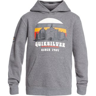 Quiksilver - Big Logo Hoodie Boys heather grey