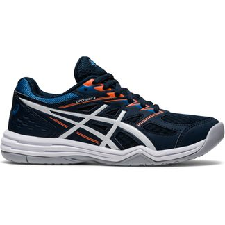 ASICS - Upcourt 4 GS Indoor Shoes Kids french blue white