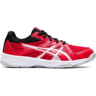 ASICS - Upcourt 3 GS Volleyballschuhe Kinder classic red pure silver