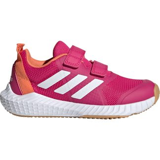 adidas - FortaGym CF K Hallenschuhe Kinder real magenta footwear white semi coral