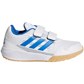 adidas - AltaRun CF K Indoor Shoes Kids footwear white blue mid grey