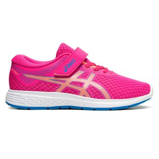 ASICS - Patriot 11 PS Indoor Shoes kids pink glow sun coral