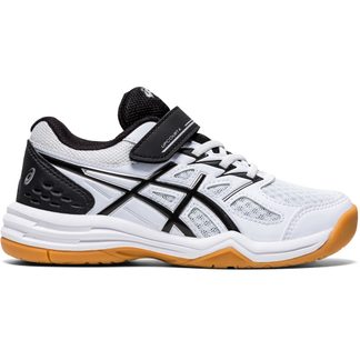 ASICS - Upcourt 4 GS Indoor Shoes Kids black white
