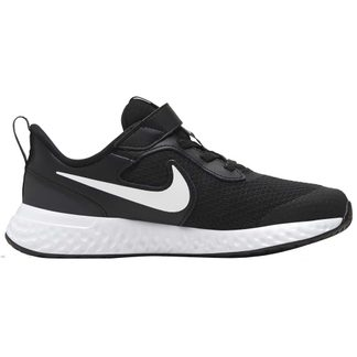 Nike - Revolution 5 Sneaker Kinder black white anthracite