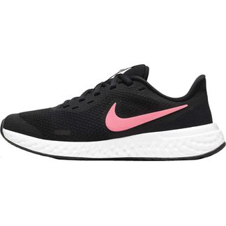 Nike - Revolution 5 (GS) Laufschuhe Kinder black sunset pulse