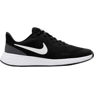 Nike - Revolution 5 (GS) Laufschuhe Kinder black white atnhracite