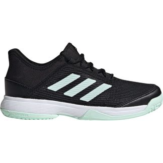adidas - Adizero Club Tennis Shoes Kids core black dash green footwear white