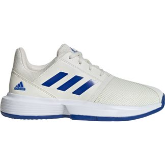 adidas - CourtJam Tennis Shoes Kids off white team royal blue footwear white