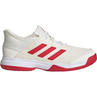 adidas - Adizero Club Tennis Shoes Kids off white scarlet footwear white