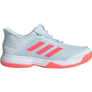 adidas - Adizero Club Tennis Shoes Kids sky tint signal pink footwear white