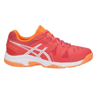 ASICS - Gel-Game 5 GS tennis shoes girls coralicious white orange pop
