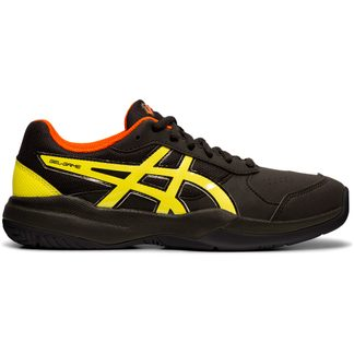 ASICS - Gel-Game 7 GS Tennis Shoes Kids black sour yuzu