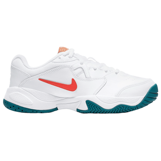 Nike - Court Junior Lite 2 Tennis Shoes Kids white team orange green abyss