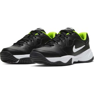 Nike - Court Lite 2 Tennisschuhe Kinder black white volt