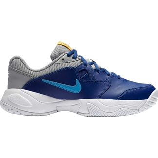 Nike - Court Junior Lite 2 Tennis Shoes Kids deep royal blue coast light smoke