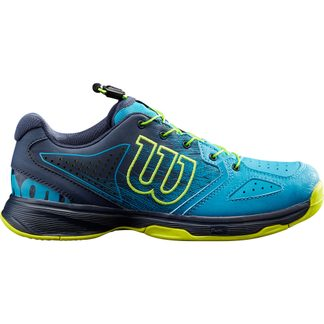 Wilson - Kaos Jr. QL Tennisschuhe Kinder barrier reef navy blazer lime popsicle