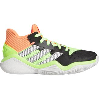 adidas - Harden Stepback Shoes Kids core black signal coral dash grey