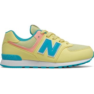 New Balance - 574 Sneaker Kids lemon haze