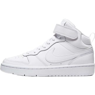 Nike - Court Borough Mid 2 (GS) Shoes Kids white