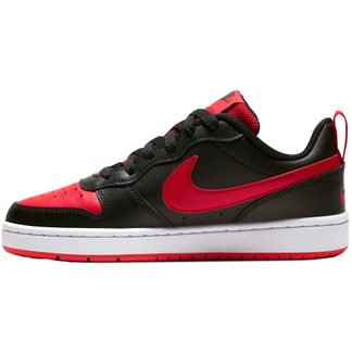 Nike - Court Borough Low 2 (GS) Shoes Kids black university red white