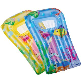 Happy People - Air Mattress Kids yellow and blue