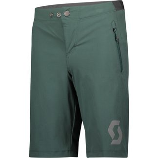Scott - Trail 10 Junior Loose Fit Shorts Mit Polster Kinder smoked green
