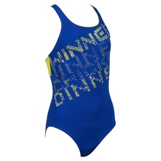 Arena - Rhyming Sports Swimsuit Girls neon blue soft green