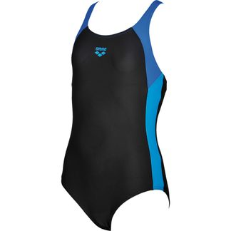 Arena - Ren Swimsuit Girls black pix blue turquoise