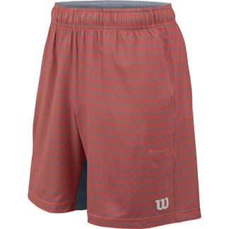 Wilson - Summer Labyrinth 7 Shorts Jungen hot coral