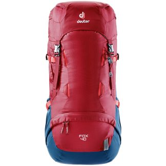 Deuter - Kinderrucksack Fox 40 cranberry steel